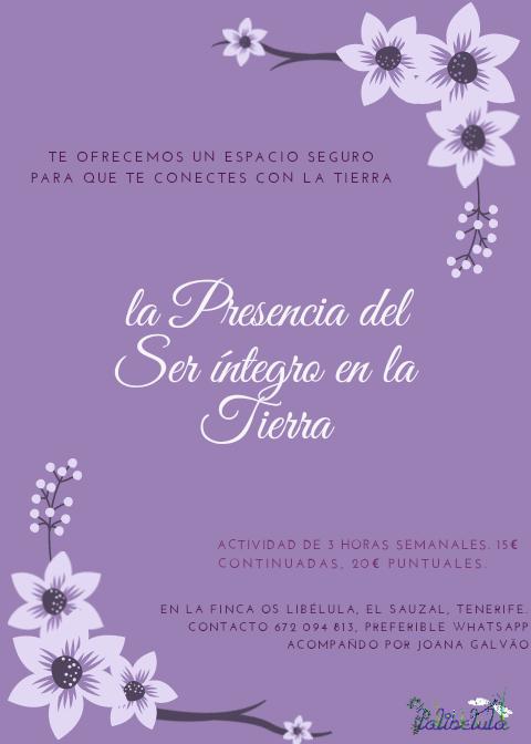 La presencia del ser integro en la tierra 15/02/2020